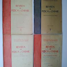 Lot 4 nr. REVISTA DE FIZICA SI CHIMIE, anii '70 - Revista scolara