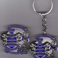 Breloc si insigna fotbal + cutie cadou QUEENS PARK RANGERS - Anglia