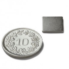 Magnet neodim  10x10x01 nano modelism diverse experimente neodym, neodymium