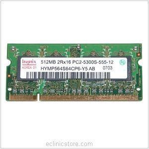 placuta rami ram 512MB 2Rx16 PC2 5300S 555 12 A3 DDR2 foto