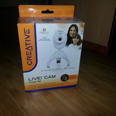 Camera WEB Creative - Webcam Creative, 1.3 Mpx- 2.4 Mpx, Microfon