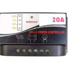 Regulator incarcare 12v - 20A Charge controller regulator solar panouri solare