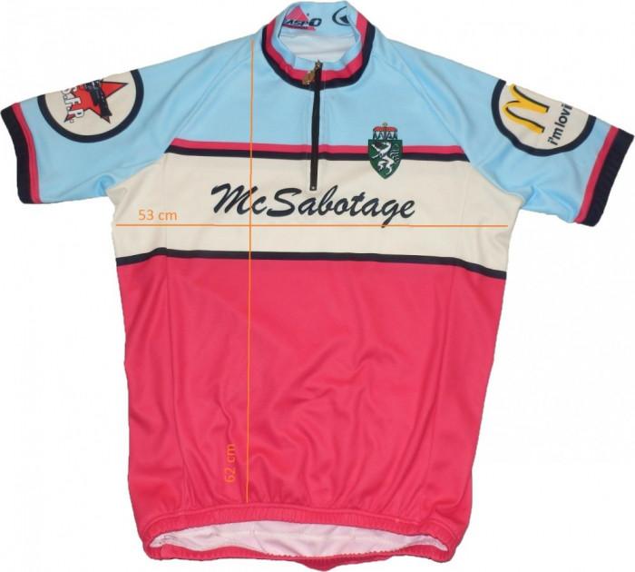 Tricou ciclism TEASPO Sportwear, tesatura fagure (S) cod-168815 foto mare