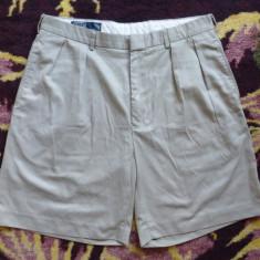 Pantaloni scurti Polo by Ralph Lauren; marime 34, vezi dimensiuni; ca noi - Bermude barbati Ralph Lauren, Culoare: Din imagine