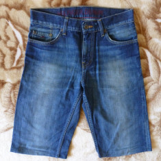 Blugi scurti Tommy Hilfiger Denim Manhattan, Old School Blue; 28; impecabili - Blugi dama Tommy Hilfiger, Culoare: Din imagine