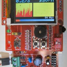 Contor Geiger (Counter) DIY model GK-Plus montat si testat cu tub geiger SI-22G