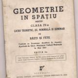 6A(`) St.I Tacorian si Gh. Beiu-Paladi-GEOMETRIE IN SPATIU-Cl a V a anul 1942