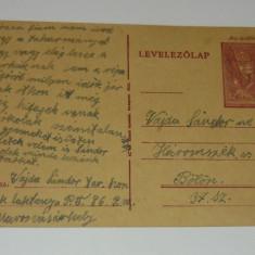 Carte postala / ilustrata - UNGARIA - timbru fix - circulata 1946 - 2+1 gratis toate produsele la pret fix - RBK5386, Europa, Fotografie