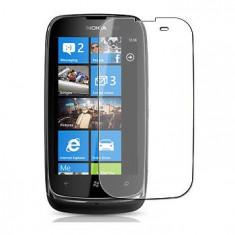 Folie Nokia Lumia 610 Transparenta - Folie de protectie Nokia, Lucioasa