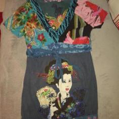 Rochie dama - Rochie de zi Desigual, Marime: S, Culoare: Din imagine, S, Din imagine, Mini