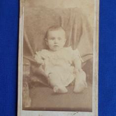 FOTOGRAFIE VECHE PE SUPORT DE CARTON * FOTO JOSEPH KESTLER - PLOESCI - 1893