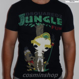 Tricouri DSQUARED Jungle Fun Model NOU  - Gri / Albastru / Rosu / Negru / Alb !!