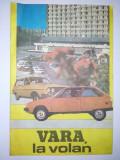 VARA, LA VOLAN - brosura editata de catre Inspectoratul general al militiei, directia circulatie, anii '80