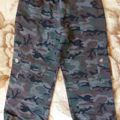 Pantaloni ¾ Moda Times, camuflaj urban; marime M: 77 cm talie, 70.5 cm lungime - Pantaloni dama, Marime: M, Culoare: Din imagine