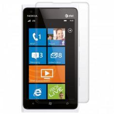 Folie Nokia Lumia 900 Transparenta - Folie de protectie Nokia, Lucioasa