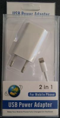 Cablu de date/ incarcare  compatibil iphone 5, 5S - 2 IN 1 foto