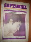 """Ziarul saptamana 10 decembrie 1971-ion dichiseanu,la teatrul """"constantin tanase"""""""