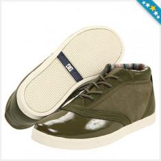 Tenisi DC Cadet Chukka - Tenesi Barbati - Piele Naturala - 100% AUTENTIC - Tenisi barbati Dc Shoes, Marime: 40.5, 42, Culoare: Verde
