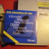 CD writer TEAC model W58E