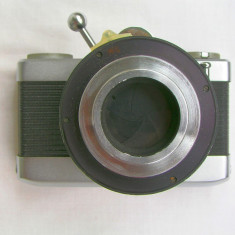 Aparat foto dedicat de colectie Carl Zeiss Werra Microscope