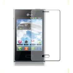 Folie LG Optimus L3 E400 Transparenta - Folie de protectie LG, Lucioasa