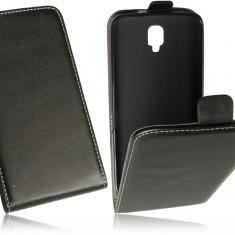 Husa Alcatel One Touch Scribe HD OT-8008D Flip Case Inchidere Magnetica Black