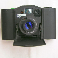 Aparat foto cu film Minox 35 PL, Mic