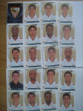 PANINI - Champions League 2009-2010 / Sevilla (20 stikere)