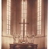 Sighisoara Schassburg CP biserica evanghelica interior foto A.Schotsch