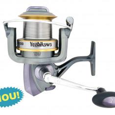 Mulineta Baracuda Yoshikawa XW10000 - 13 rulmenti pentru pescuit la CRAP model 2014