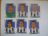 PANINI - Champions League 2009-2010 / Juventus Torino (6 stikere)