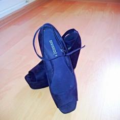 Sandale H&M - Sandale dama H&m, Culoare: Negru, Marime: 39, Negru