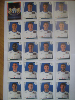 PANINI - Champions League 2009-2010 / FC Zurich (20 stikere) foto