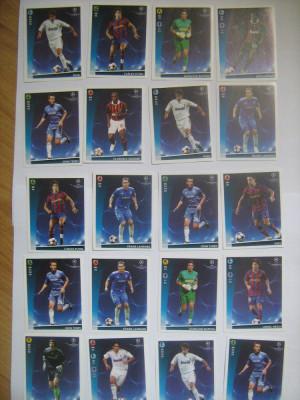 PANINI - Champions League 2009-2010 / jucatori (20 stikere) foto