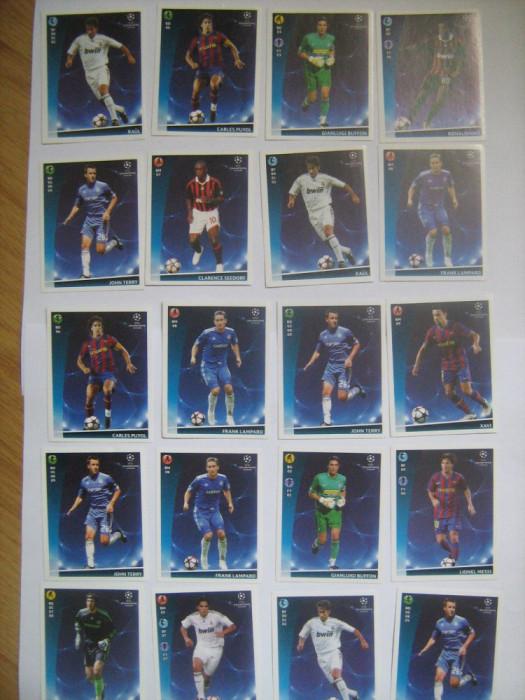 PANINI - Champions League 2009-2010 / jucatori (20 stikere)
