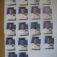 PANINI - Champions League 2009-2010 / FC Zurich (18 stikere)