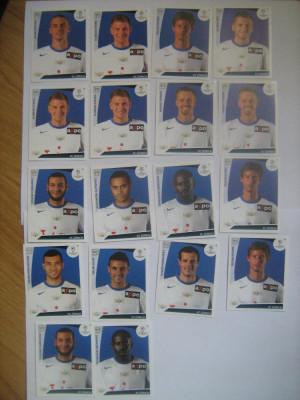 PANINI - Champions League 2009-2010 / FC Zurich (18 stikere) foto
