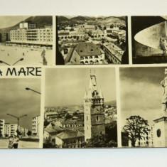 Carte postala / ilustrata - ARTA - ARHITECTURA - BAIA MARE - VEDERI - necirculata anii 1960 - 2+1 gratis toate produsele la pret fix - RBK5540 - Carte Postala Maramures dupa 1918, Fotografie