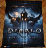 Poster Diablo 3 Reaper of Souls   100% Original Made   Posterele sunt IMPECABILE