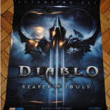 Poster Diablo 3 Reaper of Souls | 100% Original Made | Posterele sunt IMPECABILE