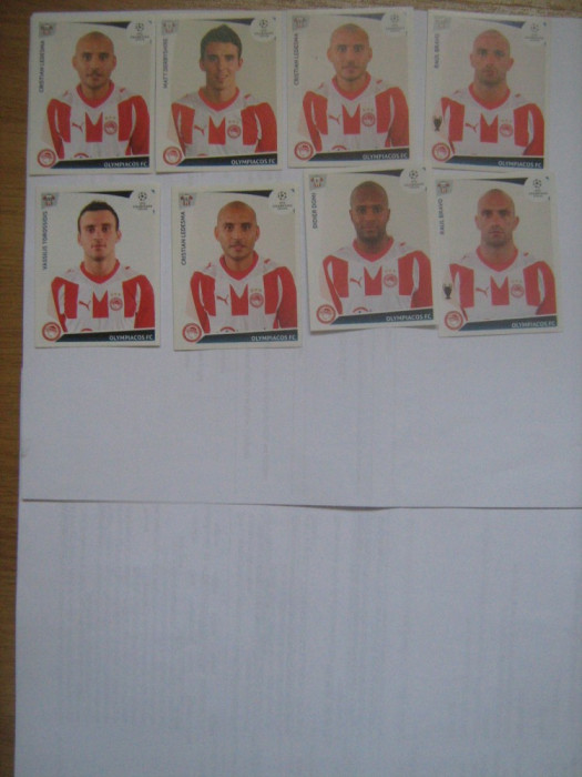 PANINI - Champions League 2009-2010 / Olimpiacos (8 stikere)