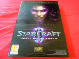 Joc Starcraft II Heart of the Swarm, PC, sigilat, 49.99 lei(gamestore)!, Role playing, 16+, MMO