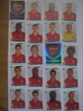 PANINI - Champions League 2009-2010 / Arsenal Londra (20 stikere)