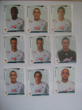 PANINI - Champions League 2009-2010 / Debreceni VSC (9 stikere)