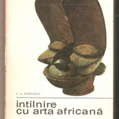 Intilnire cu arta africana - Carte sculptura