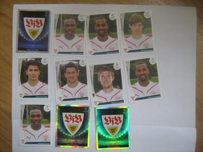 PANINI - Champions League 2009-2010 / VfB Stuttgart (11 stikere) foto