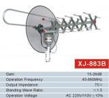 PROMO! ANTENA TV PROFESIONALA MOTORIZATA 360 GRADE CU RECEIVER/AMPLIFICATOR SI TELECOMANDA INCLUSA.