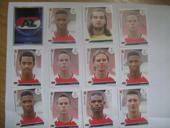 PANINI - Champions League 2009-2010 / AZ Alkmar (12 stikere)