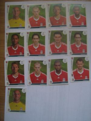 PANINI - Champions League 2009-2010 / Liverpool (13 stikere) foto