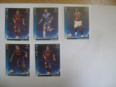 PANINI - Champions League 2009-2010 / jucatori (5 stikere) foto